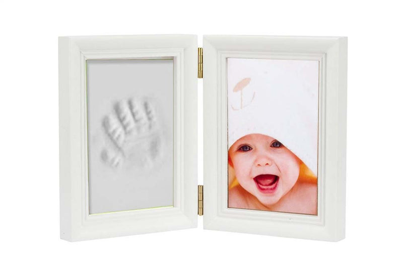 Babies Bloom Baby Keepsake Life Story Imprint Frame - White