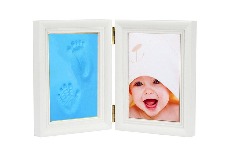 Babies Bloom Baby Keepsake Life Story Imprint Frame - Blue