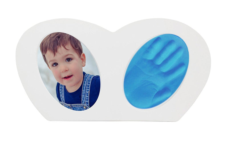 Babies Bloom Baby Little Hands - Hand-print Frame with Blue Clay