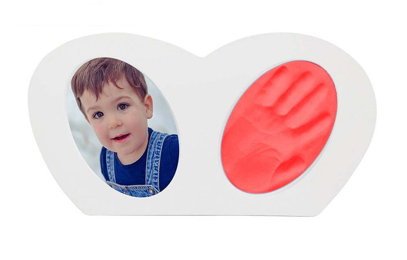 Babies Bloom Baby Little Hands - Hand-print Frame with Red Clay