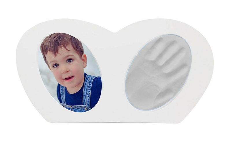 Babies Bloom Baby Little Hands - Hand-print Frame with White Clay