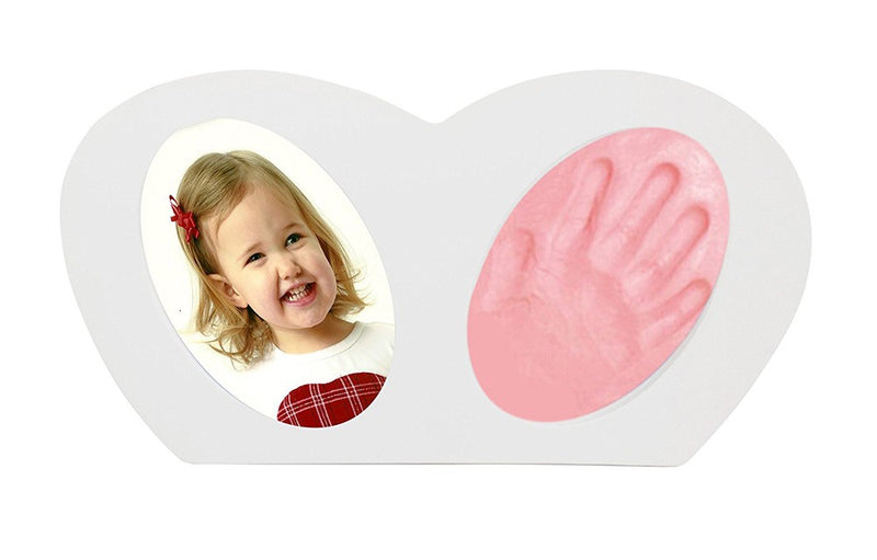 Babies Bloom Baby Little Hands - Hand-print Frame with Pink Clay