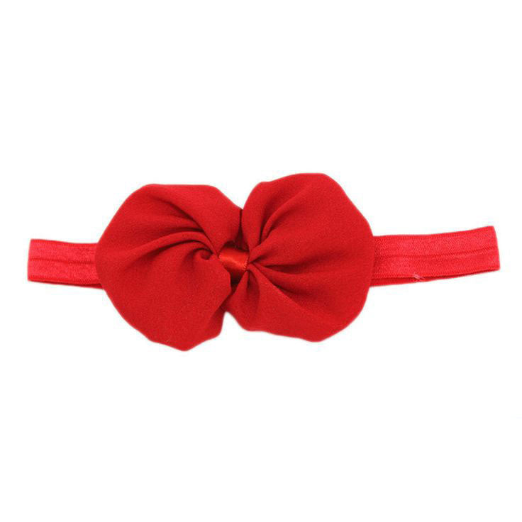 Bellazaara Girls' Red Baby Girls Bowknot Headband