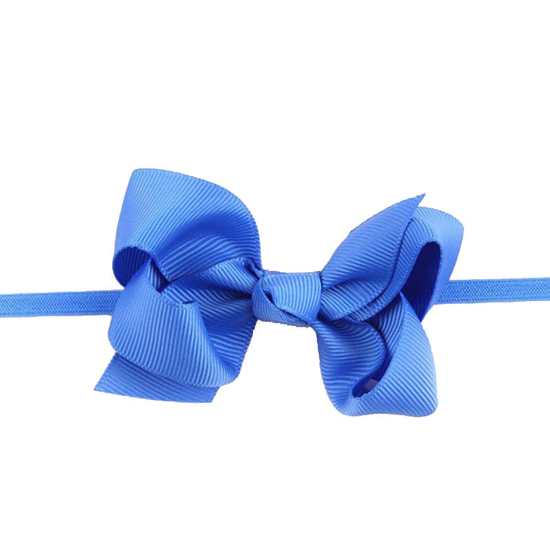Bellazaara Girls  Blue Ribbon Bow Headband – Munchkinz 10c4c29bb4c