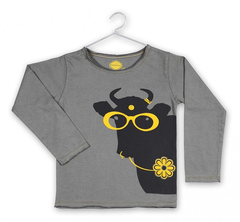 Crazy Daisy Long Sleeves Tee