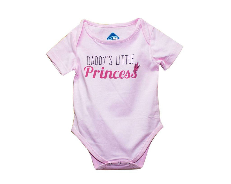 Blue Bus Store Daddy's Little Princess Printed Romper