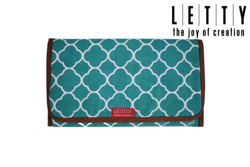 LETTY Clutch Style Cushioned Diaper Changing Mat- Teal