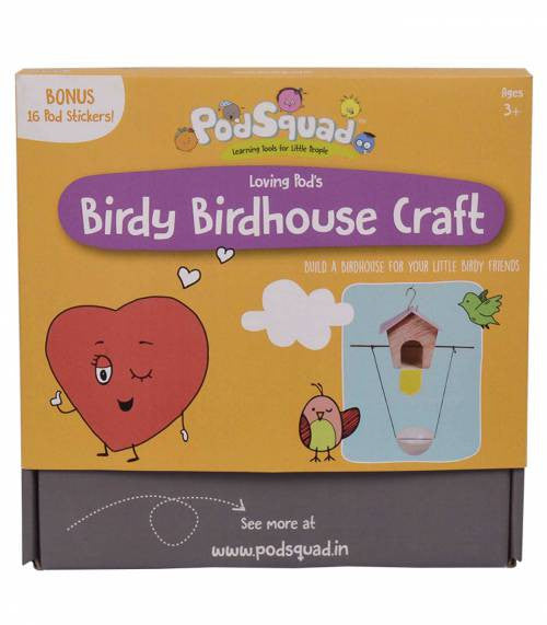 PodSquad Activity Box - The Birdy Birdhouse Mini Box