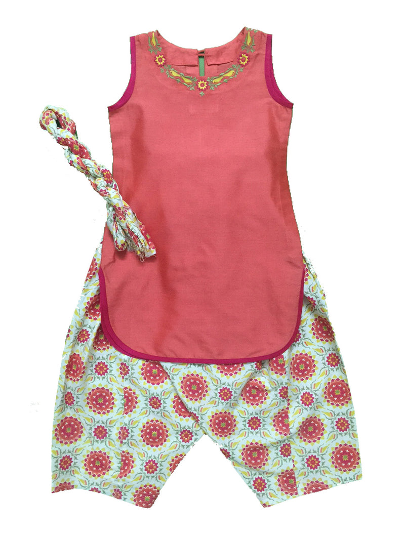 Printed Patiala With Kurti Set from Nee & Oink