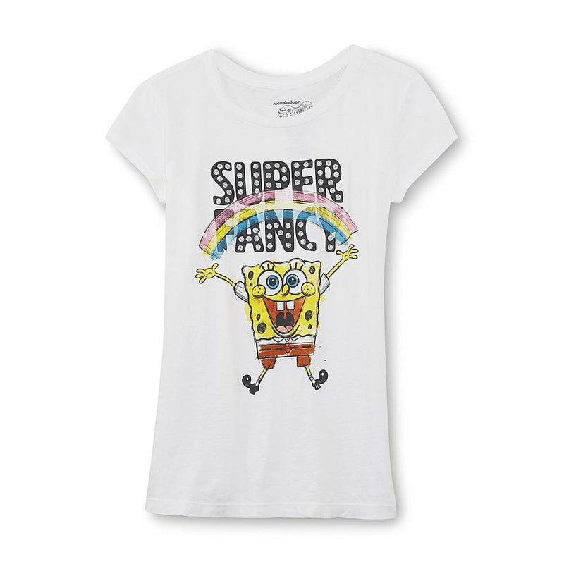 Munchkinz Nickelodeon SpongeBob SquarePants Super Fancy Girl's Graphic T-Shirt