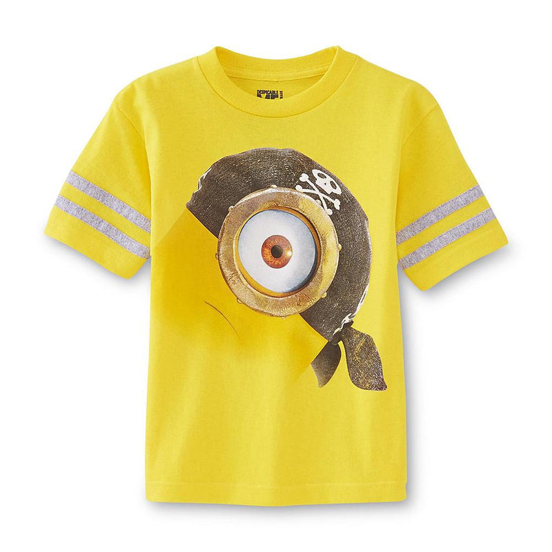 Munchkinz Boy's Graphic T-Shirt - Pirate Minion
