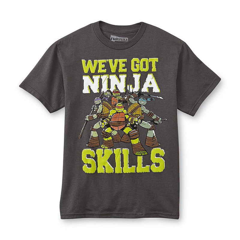 Munchkinz Nickelodeon Teenage Mutant Ninja Turtles Boy's Graphic T-Shirt