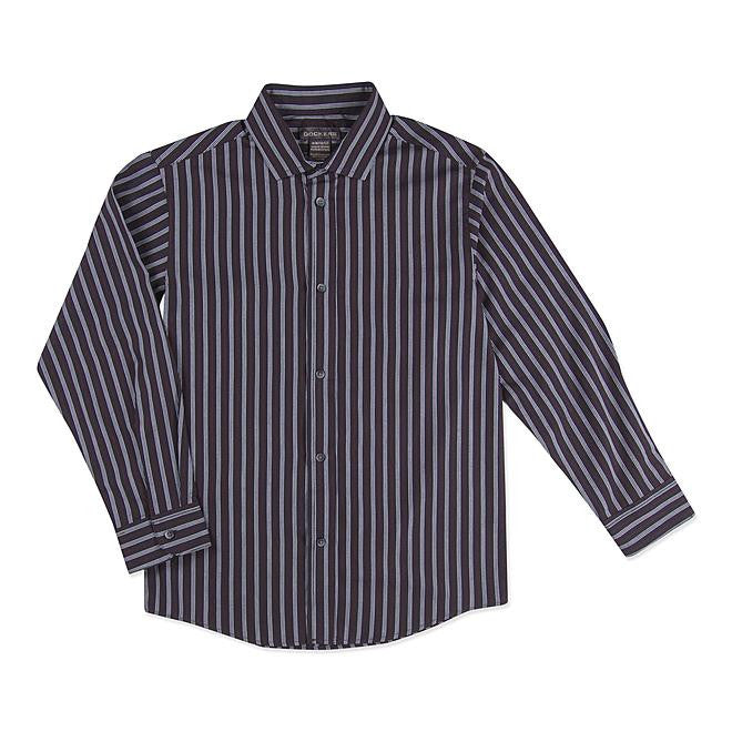 Munchkinz Boy's Dress Striped Shirt