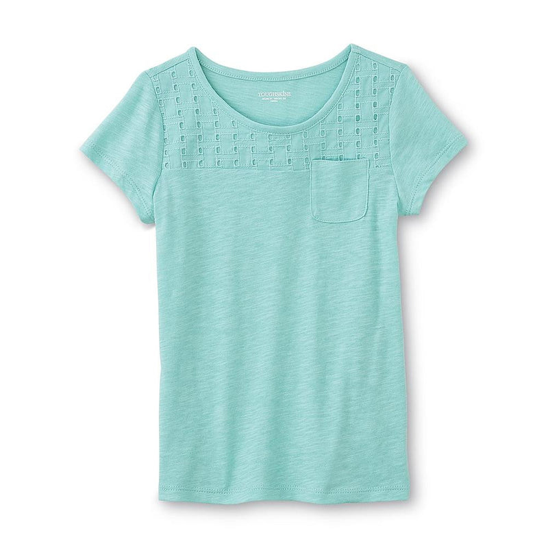 Munchkinz Infant and Toddler Girl's Textured T-Shirt