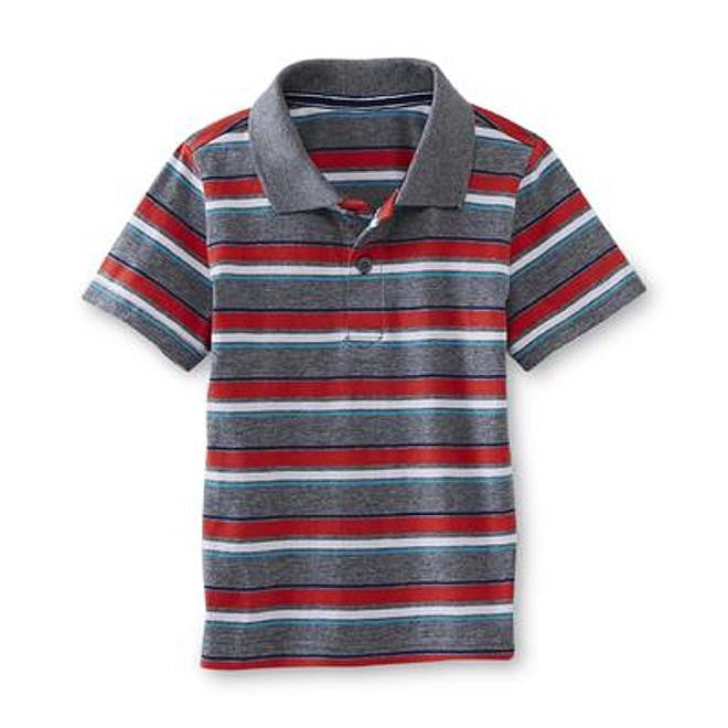 Munchkinz Infant & Toddler Boy's Striped Polo Shirt