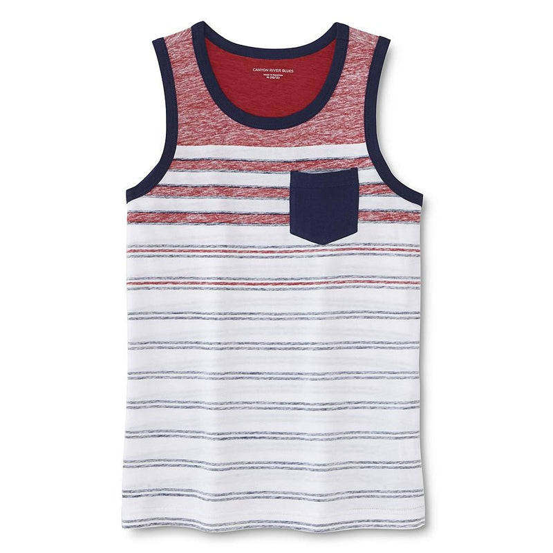 Munchkinz Boy's Striped Tank Top
