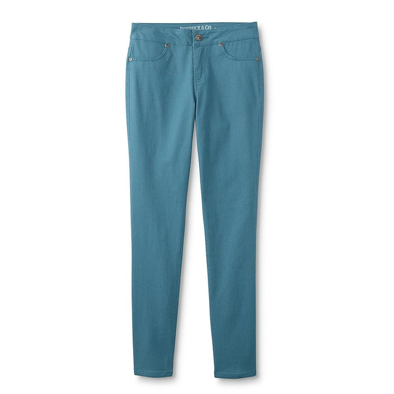 Munchkinz Girl's Blue Colored Skinny Jeans