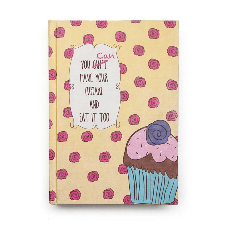 Rosy Cupcakes Journal