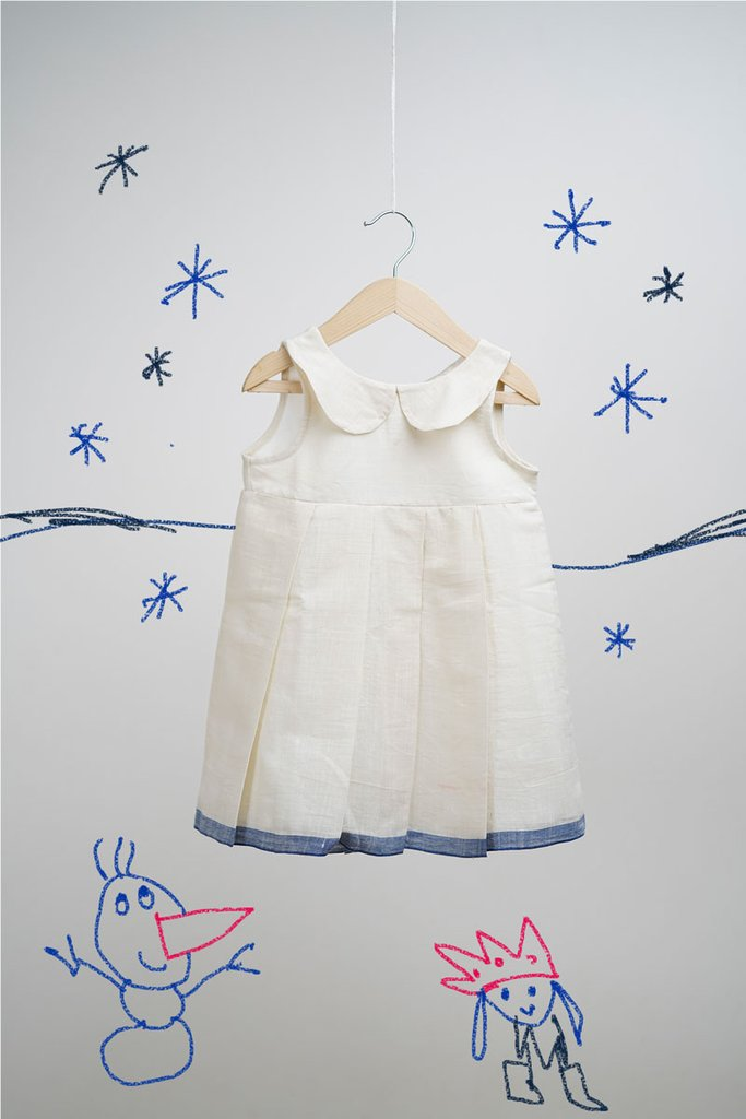 The Snowy Planet White Dress