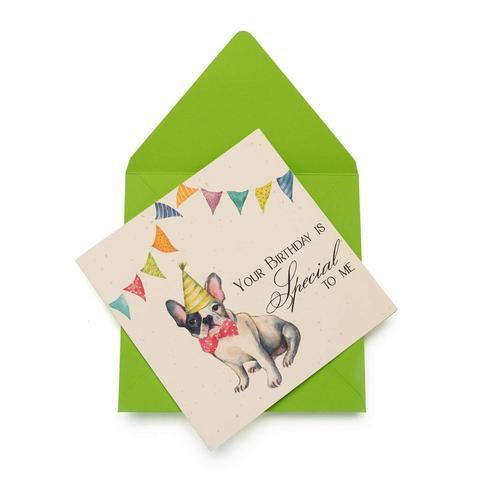 Special Surprise Birthday Greeting Card