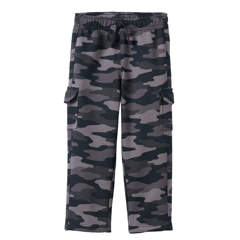 bc6398164086 Toddler Boy Jumping Beans Fleece-Lined Camouflage Cargo Pants