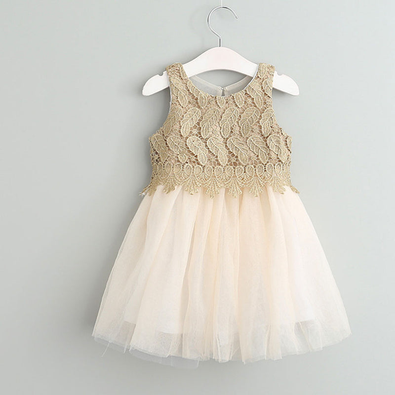 Aww Hunnie Cream Spring Party Dress