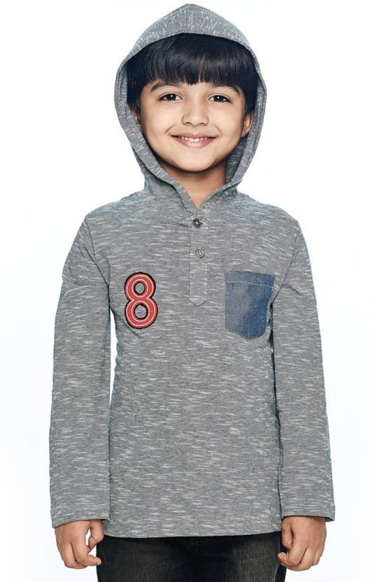 Ventra Boys Lined Hooded Sweatshirt