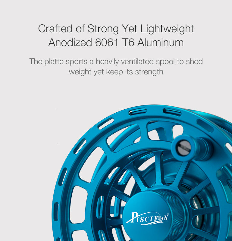 crafted of strong yet lightweight fly reel spool