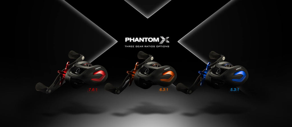 Piscifun-Phantom-X-Casting-Reel-Different-Gear-Ratios