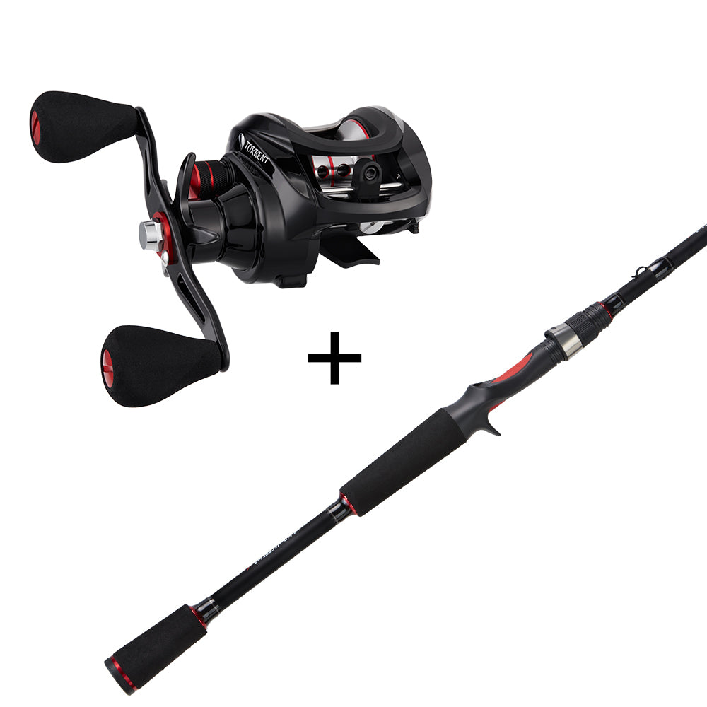 Piscifun® Torrent Casting Reel and Rod Combos (Only available in US)