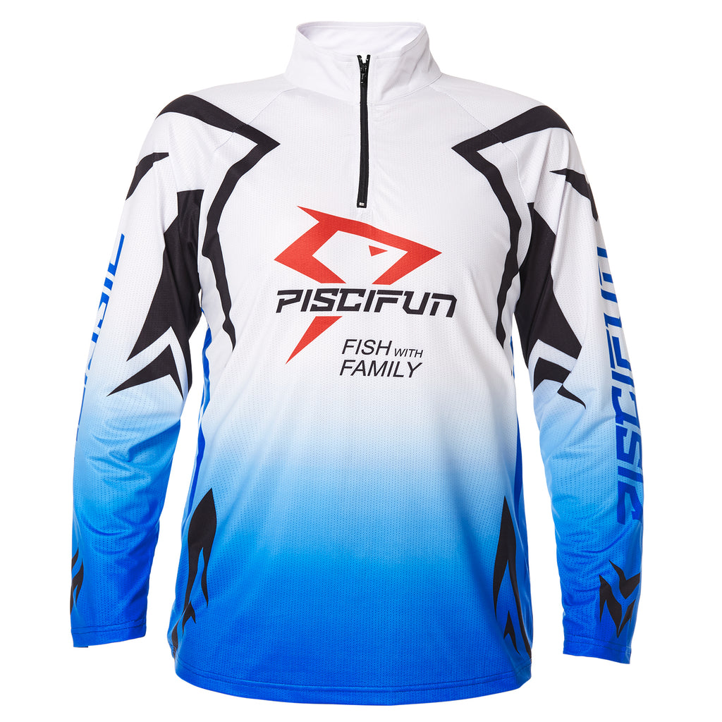 Piscifun® Performance UPF Long Sleeve Fishing T-Shirt-Sun Protection Clothing Fishing Jersey S M L XL XXL XXXL