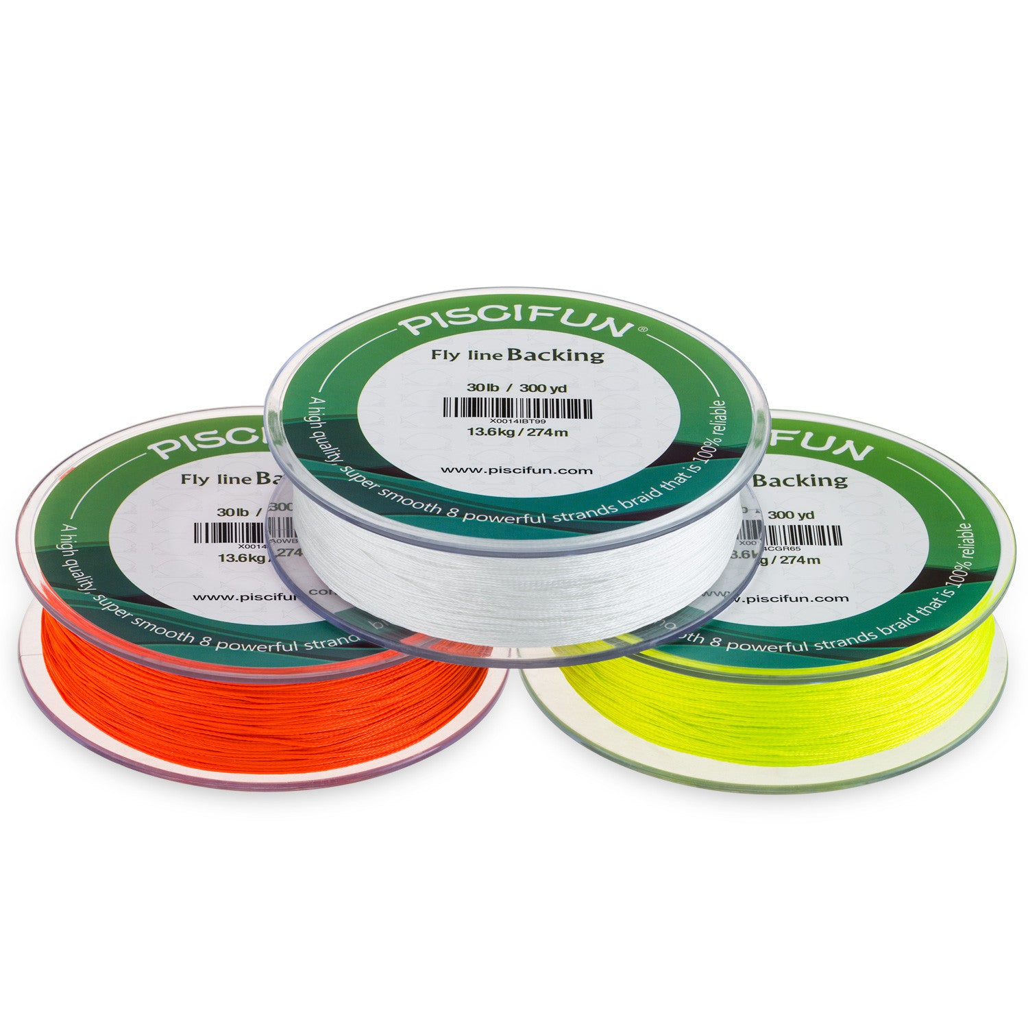 Fly line backing line for fly fishing 100 300yds 20 30lb for Fly fishing backing