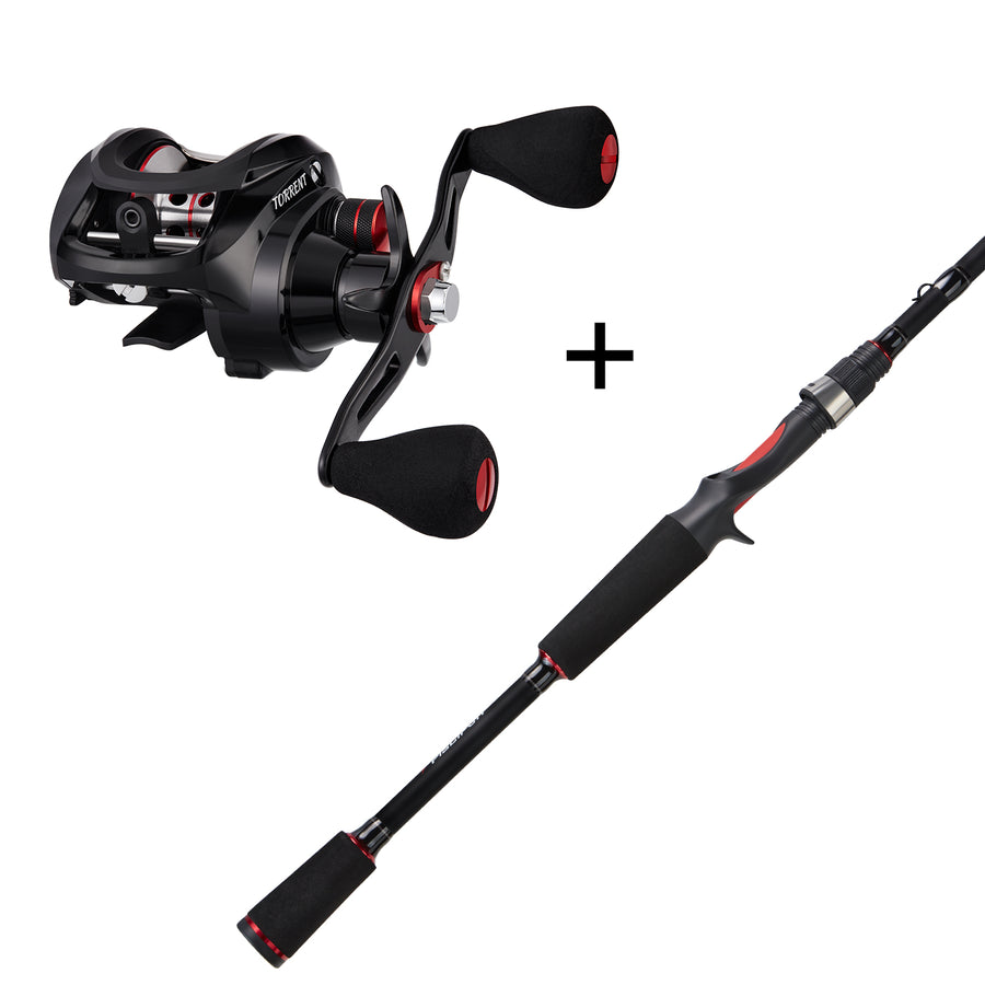 Piscifun® Torrent Casting Reel and Rod Combos (Only Delivered within the US)