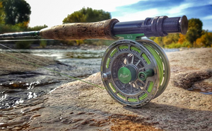 Piscifun® PLATTE Fly Fishing Reel Large Arbor Fly Reel Gunmetal