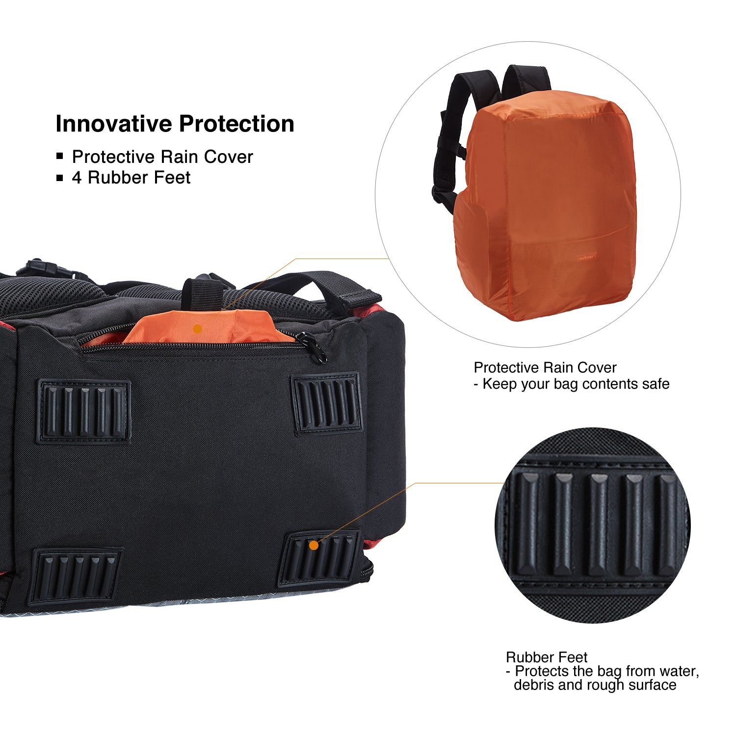 Details about  /Piscifun Fishing Tackle Backpack with 4 Trays Large Capacity Waterproof Fishi...