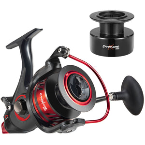 Piscifun® Carnivore X Baitfeeder Spinning Reel 4.3:1-5.1:1 Shielded Stainless Steel for Freshwater Saltwater 3000-6000