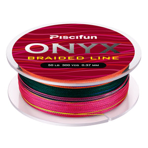 Piscifun® ONYX Braided Fishing Line 275M/300Yds