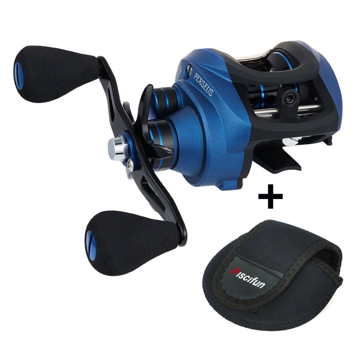 Piscifun® Perseus Baitcasting Reel 6.3:1 Gear Ratio Dual Brake