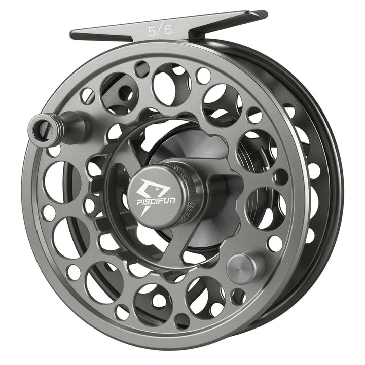 Piscifun® Sword Fly Fishing Reel Grey