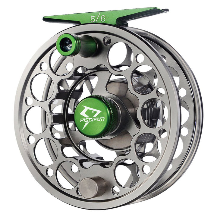 Piscifun® Sword Fly Fishing Reel Gunmetal