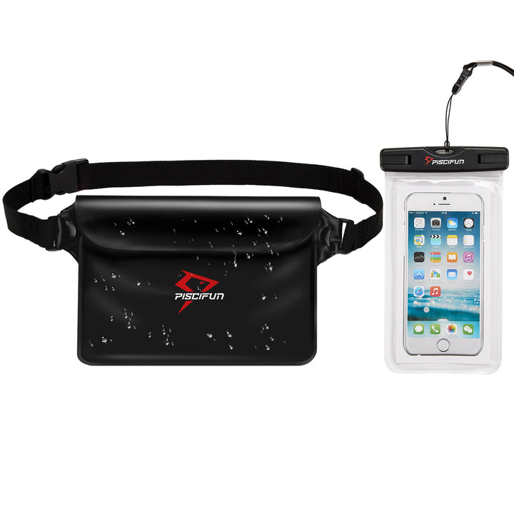 Piscifun® Waterproof Pouch with Waterproof Phone Case