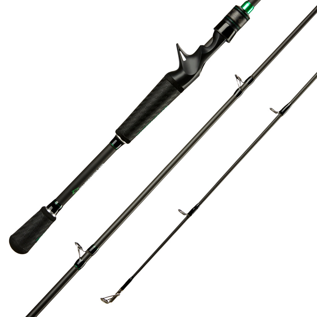 Piscifun® Serpent Casting Rod Two Piece Baitcasting Rod IM7 Carbon Fishing Rod (Only Available in US)