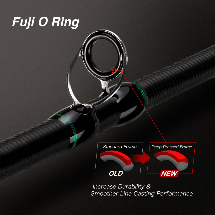 Piscifun® Serpent Casting Rod Two Pieces (Only Delivered within the US)