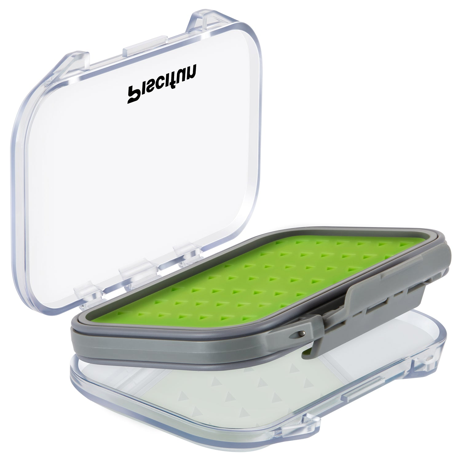 Piscifun waterproof 2 layers floating fly fishing boxes for Fly fishing box