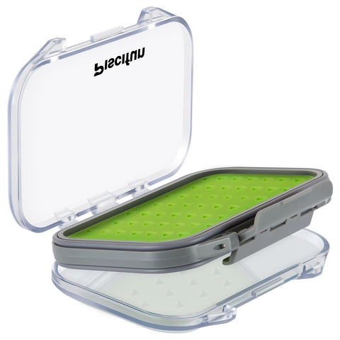 Piscifun® Waterproof 2 Layers Floating Fly Fishing Boxes Hook Fly Box