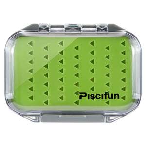 Piscifun® Waterproof 2 Layers Floating Fly Fishing Boxes Hook Fly Boxes