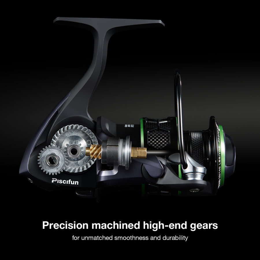 Piscifun® Viper Spinning Reel 5.1:1 Gear Ratio
