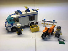 Load image into Gallery viewer, Pre-owned LEGO®, 7286, Prisoner Transport, Dirt Bike and 2 figures