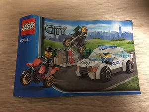 Lego Set 60042 -  High Speed Police Chase