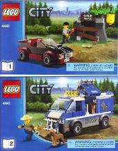 Load image into Gallery viewer, Lego Set 4441 -  Police Dog Van